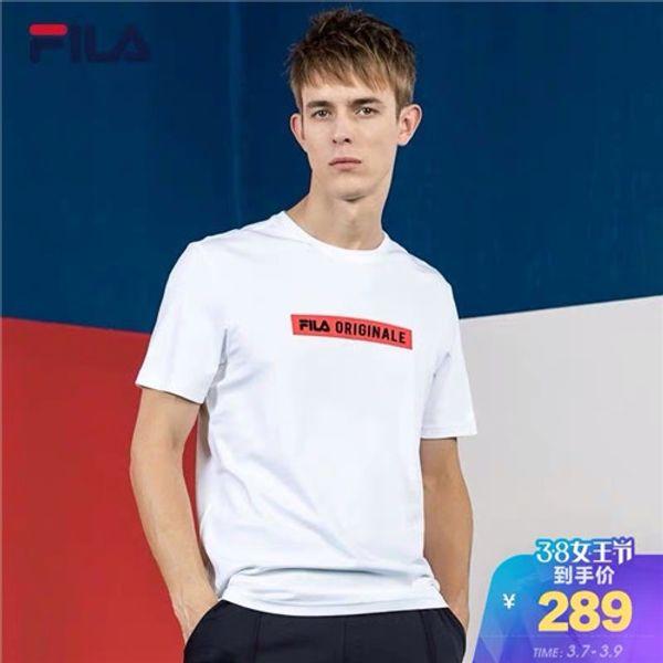 2019 de lujo para hombre T-shirts Hombre Tees Verano IC DSE Carta Carta Negro Blanco Azul Color rojo de alta calidad f007