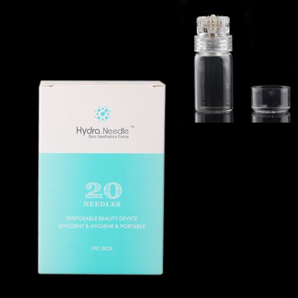 Injection micro de sérum de rouleau de bouteille d'applicateur de Derma d'aiguille de rouleau d'hydre réutilisable