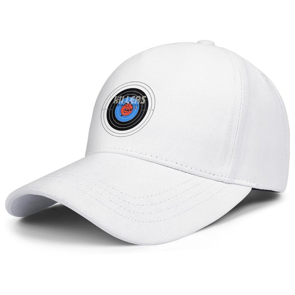 The Killers direct hits white for men and women trucker cap ball styles fitted sports hats