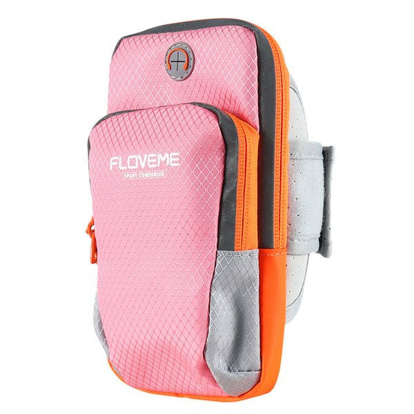 Hot Fashion Sports Running Armband Bag Case Workout Armband Holder Pounch for iphone 7 6s plus Universal Cell Phones Arm Bag Band 777