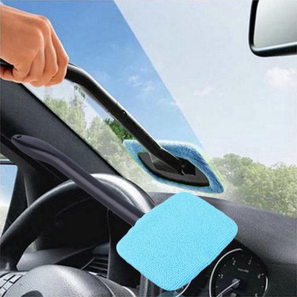 2018 Новый Портативный Авто очиститель стекол Лобовое стекло Easy Cleaner Easy-микрофибра Чистые труднодоступные окна на вашем автомобиле или дома