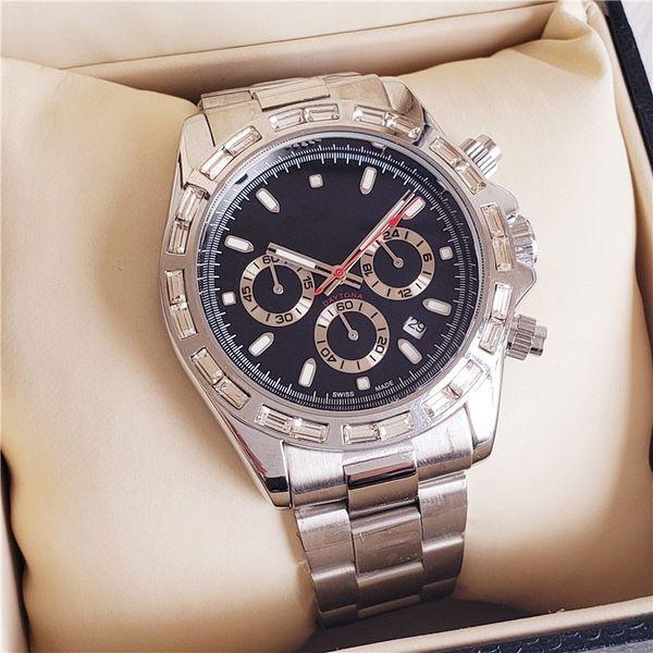 mens calda design di orologi di lusso di marca movimento dell'orologio orologi di diametro 40 millimetri automatico in acciaio meccanica di precisione regalo di natale montre de luxe