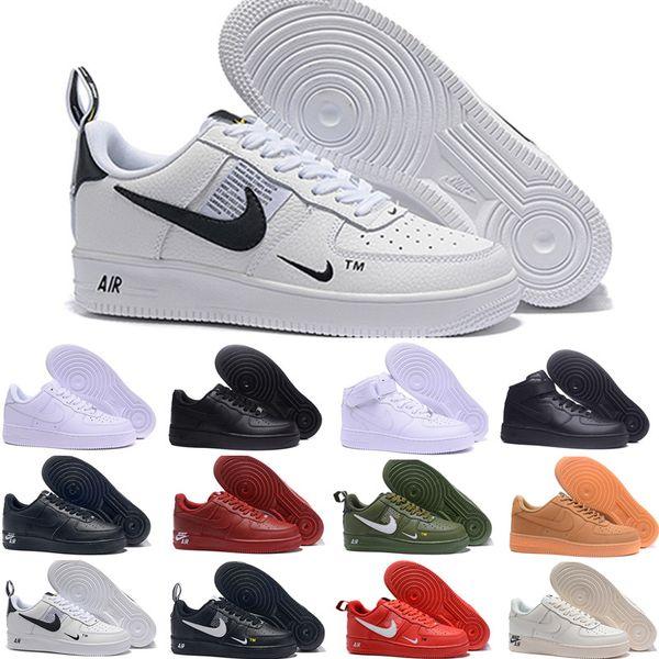 2019 Nike Air Force one 1 Af1 Nuevas llegadas Hombres