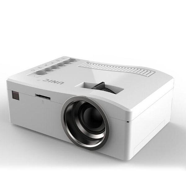 Оригинальный Unic UC18 мини светодиодный проектор портативный карманные проекторы мультимедийный плеер домашний кинотеатр игра поддерживает HDMI USB TF лучемет 10 шт.