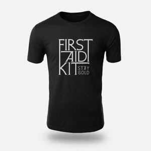 The Indie Folk Stay Gold First Aid Kit Size S to XXXL BlaWholesale Tee Men's T-shirt