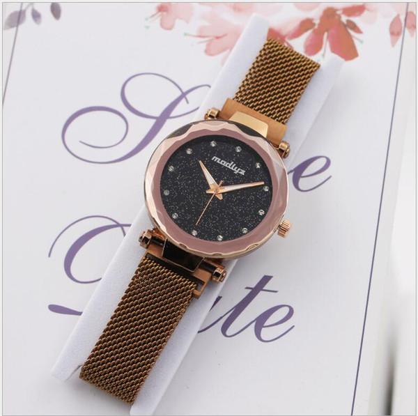 Womens Watches Alloy Crystal Leather Bracelet Small Wrist Watch Clock Women Quartz Watch With Rhinestones Relogio Feminino