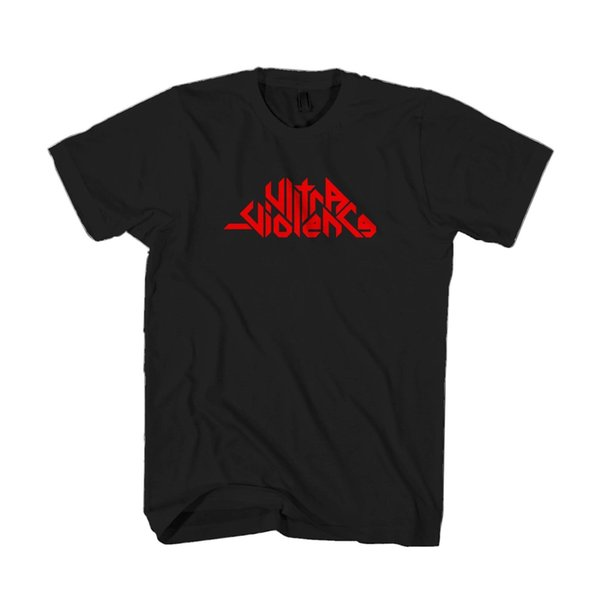 Ultra Violence Graphic Punk Rock Lolita Fashion Men & Women T-Shirt T Shirt TeesFunny free shipping Unisex Casual Tshirt