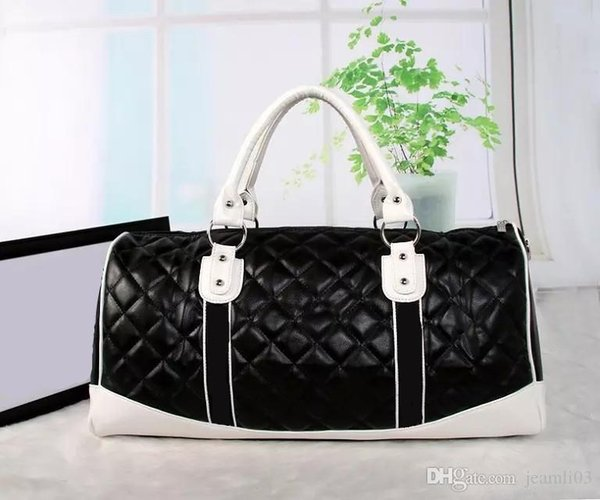 Высочайшее качество Высокопроизводительный женский мужской 55см дорожная сумка вещевой мешок сумки на ремне