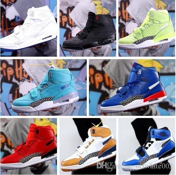 2019 New Jumpman Legacy 312 NRG Pure white Ice Blue Trainer 2 Basketball shoes for High quality 2s Men Athletic Sneakers Size 40-45