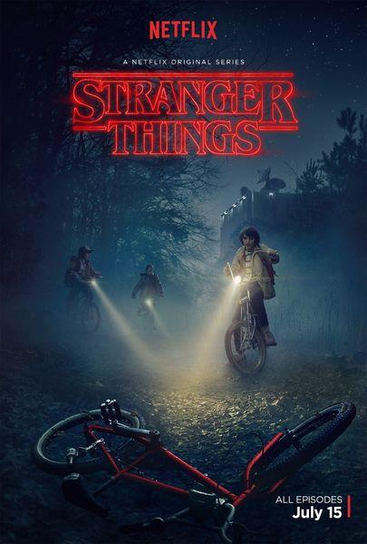 Affiche de soie de Stranger Things Art 24x36inch 24x43inch 4865