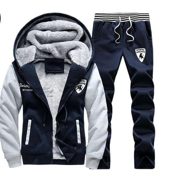 Survêtements D'hiver Pour Hommes Marque Designer Manteaux Hauts Pantalons Costumes Logo Mode Automne Cardigan Hommes Hoodies Sweats Zippés Vêtements Pour Hommes