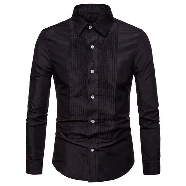 Chemise de chemise noire