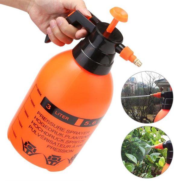 Water Cans Hand Pressure Trigge Garden Spray Bottle Plant Irrigation Watering Sprayer Manual Air Compression Pump 0.8/1.5/2/3L