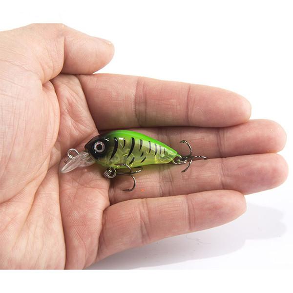 1PCS 4cm 4.5g Swim Fish Fishing Lure Artificial Hard Crank Bait topwater Wobbler Japan Mini Fishing Crankbait lure C18122601