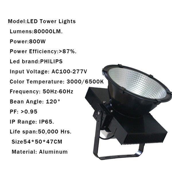 800W IP65 AC85-265V