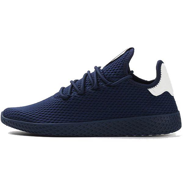 Pharrell Williams X Stan Smith Tennis Men Women Running Shoes Hu Primeknit White Green Blue Red Mesh Sports Sneaker Size 36-45