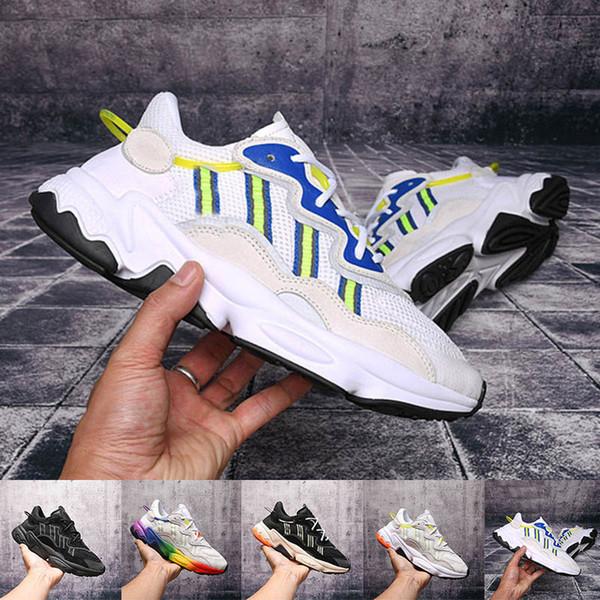 2019 Moda para hombre Running Casual Sports Jogging Shoes Diseñador Colorido Negro Blanco Zapatos de entrenamiento al aire libre Tamaño 36-45