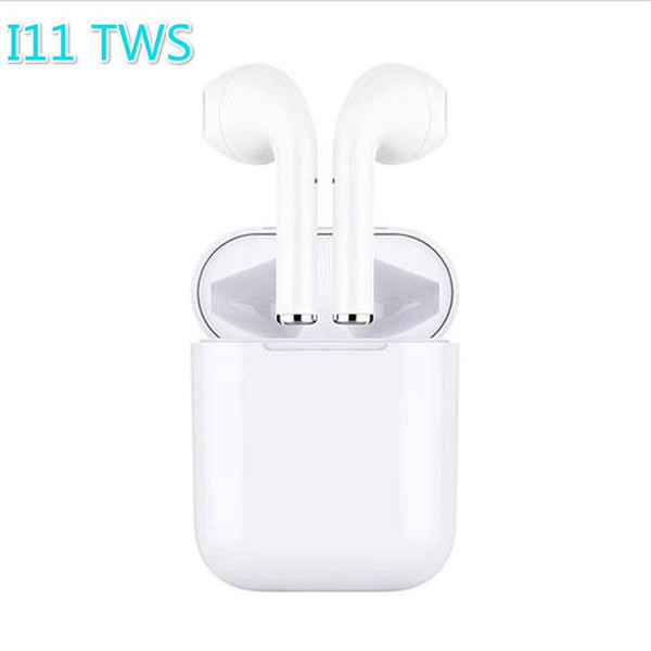 HOT i11 TWS 5.0 Touch Earphone Earbuds Wireless Bluetooth with Charging Box Mic For iPhone SE XS Max IOS Android High Quality