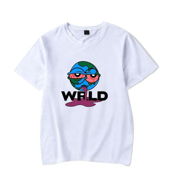 Juice wrld Mens progettista manica corta T-shirt Hip Hop Fashion allentato digitale Stampa Mens T casuali Maschi Abbigliamento