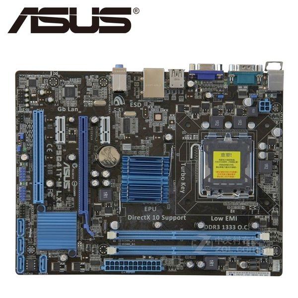Asus P5G41T-M LX3 Desktop-Motherboard G41 Sockel LGA 775 Q8200 Q8300 DDR3 8G u ATX UEFI BIOS Original Gebrauchtes Mainboard On Sale