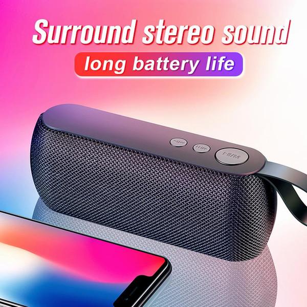SANLEPUS haut-parleur portable Bluetooth Hi-fi sans fil bar sonore stéréo musique Radio TF FM haut-parleurs de colonne subwoofer pour téléphone ordinateur