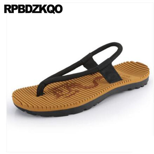 Designer Shoes Men High Quality Flip Flop Native Leather Sandals Thong Nice Slippers Brown Japanese Beach Summer Slides Casual