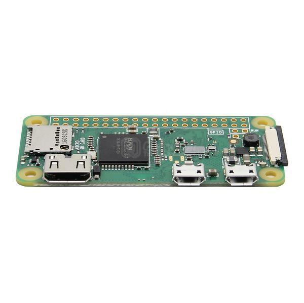 Freeshipping Raspberry Pi Zero W (Wireless) Kit BadUSB USB-A Addon Board + Raspberry Pi Zero W Mother Board Pi0 W Set