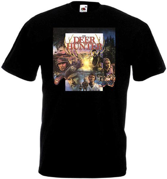 The Deer Hunter v2 t-shirt affiche du film noir toutes les tailles S-5XL taille Discout Hot New Tshirt Jersey Imprimer T-shirt
