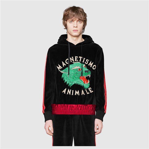 men new sweaters long sleeve hoodies casual pullover cartoon printed sweater new men hoodies