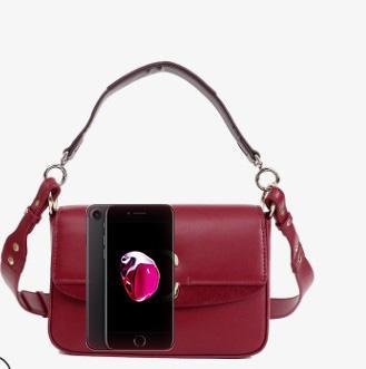19 years hot women's bag spring and summer letter C handbag handbag women luxury small square bags black designer Messenger bags