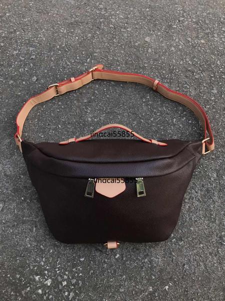 Bolso de cintura de las mujeres marca de fábrica famosa bolsa de cinturón mujeres fanny pack diseñador mujeres paquete de la cintura bolsa pequeña graffiti vientre bolsas nuevo estilo 86658