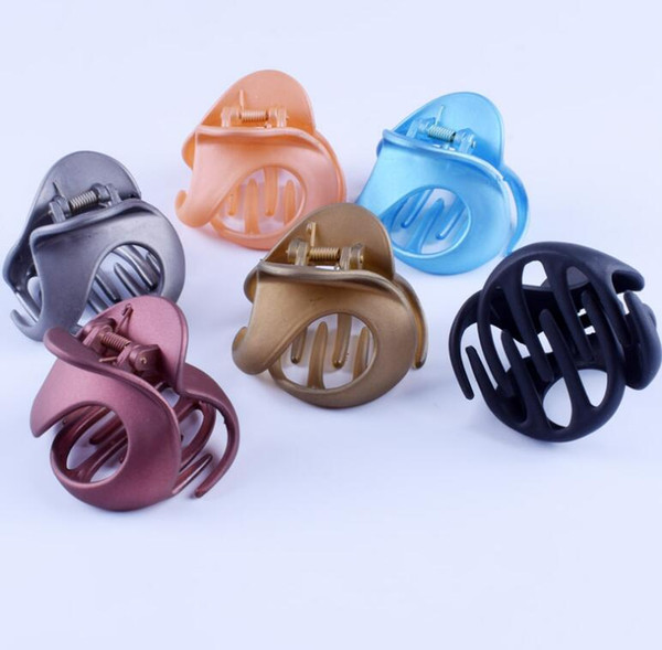 DHL Hair Claw Clips Jaw Clips Non Slip Hair Clip Clamps hairpin grip Styling Accessories for Women Girls Supply ns