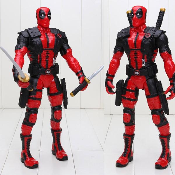 33cm герой Мутанты антигерой Deadpool Wade Winston Wilson Weapon X Deadpool ПВХ фигурку Коллекционная модель игрушки