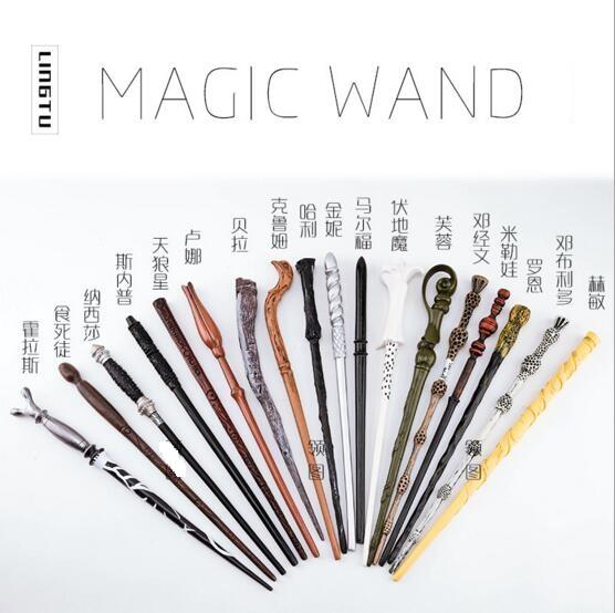 with package Harry Potter Wand Magic Props Hogwarts Harry Potter Series Magic Wand Harry Potter Magical Wand With Gift Box
