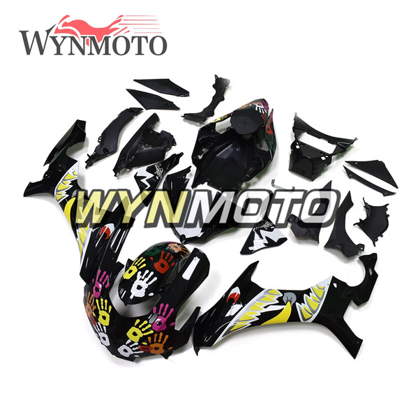 Motorcycle Fairings For Yamaha YZF 1000 R1 2015 2016 ABS Plastic Injection motorbike cowlings Covers Sportbike Black Hulls
