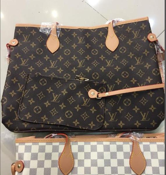 LV GUCCI Hochwertige Designer Handtasche 2 Größe Europa 2019 Luxus Tasche Damen Taschen Designer Handtaschen 3 Farben Designer Luxus Handtaschen Geldbörsen Rucksäcke