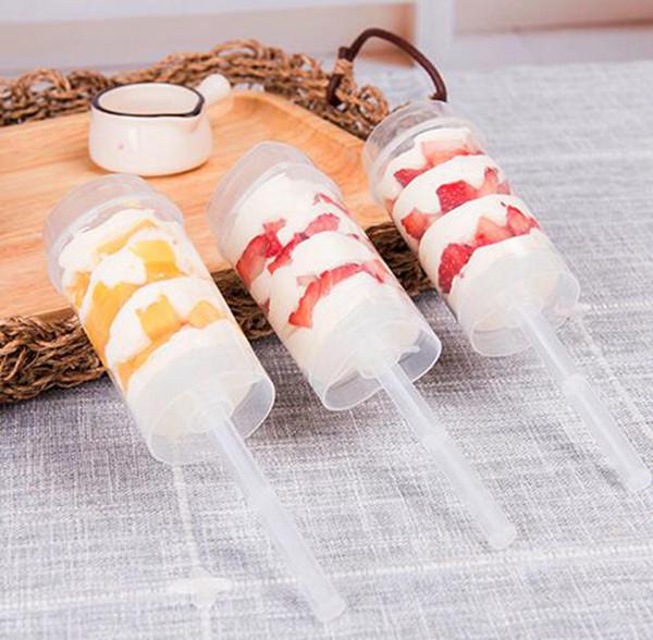 케이크 용기 케이크 콘 팝 컨테이너 케이크 컵 베이킹 금형 새로운 플라스틱 웨딩 생일 파티 장식 YYSY38