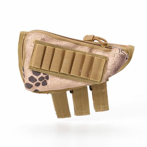 Тактические пули сумки многофункциональный расширенный пистолет жабры мешок аксессуары винтовка запас патронов Shell инструменты группа съемный мягкий чехол #510636