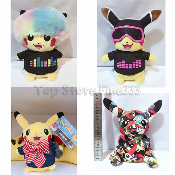 10 Inch Pikachu Stuffed Plush Doll Toys 5 Models Newest Plush Toys Best Gift For Kids