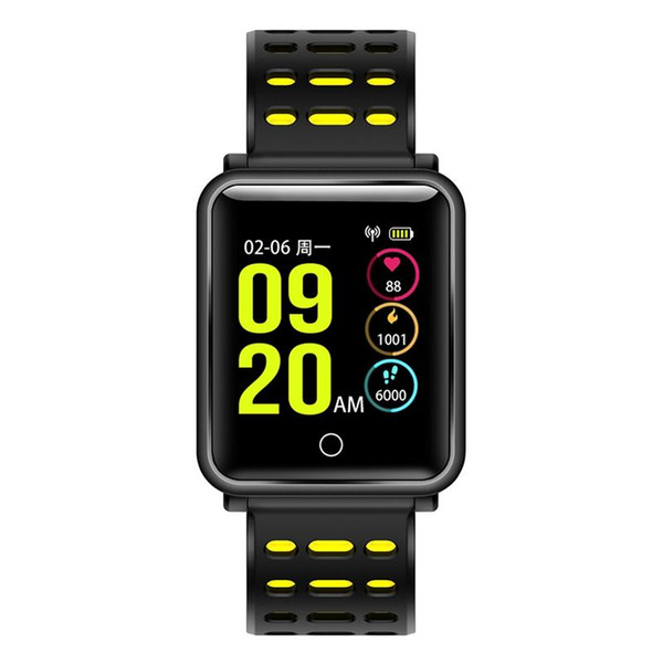 2018 X16S Bluetooth Smart Watch Calorie Counter Fitness Activity Tracker Heart Rate Monitor Sports Wristband