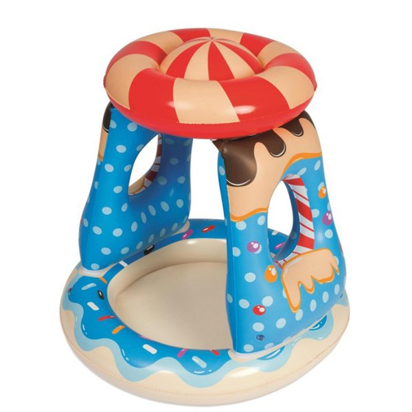 Baby Inflatable Candy Swimming Pool Bestway Awning Paddling Pool Floats Water Mattress Bed Party Toys For Kids Boia Piscina