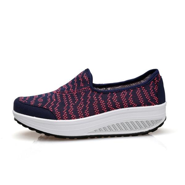 Großhandel Fitness Damen Sneakers Platform Toning Wedge