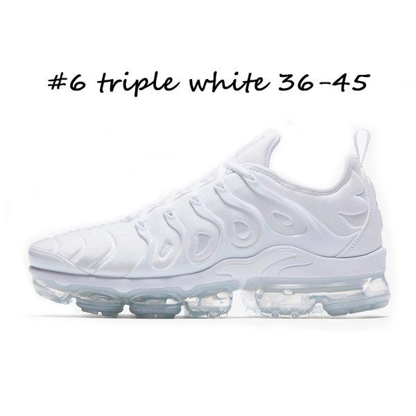 #6 triple white 36-45