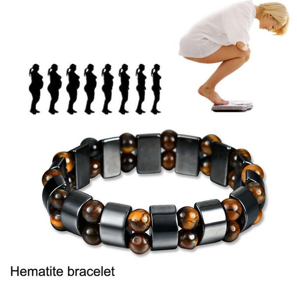Magnetic Hematite Bracelet Buddha Bead String Multilayer Wristband Bangle Cuffs for Women Men Power Healthy Designer Jewelry 162550