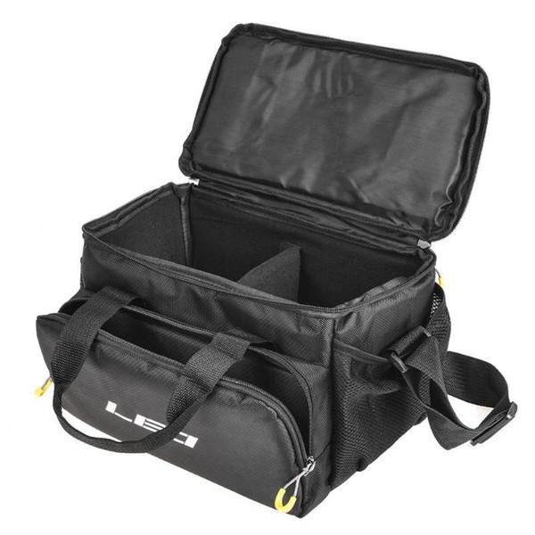 LEO Portabl Thick Fishing Bag hanging Lure Reel set Shoulder Waist Backpack Bag for Carp L32 suit for Soft backrest road bag #829278
