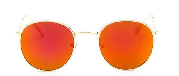 The Fashion Trend Of European And American Retro Archaic Round Frame  Sunglasses With Colored Film Sunglasses High Definition Sunglasses And  Round