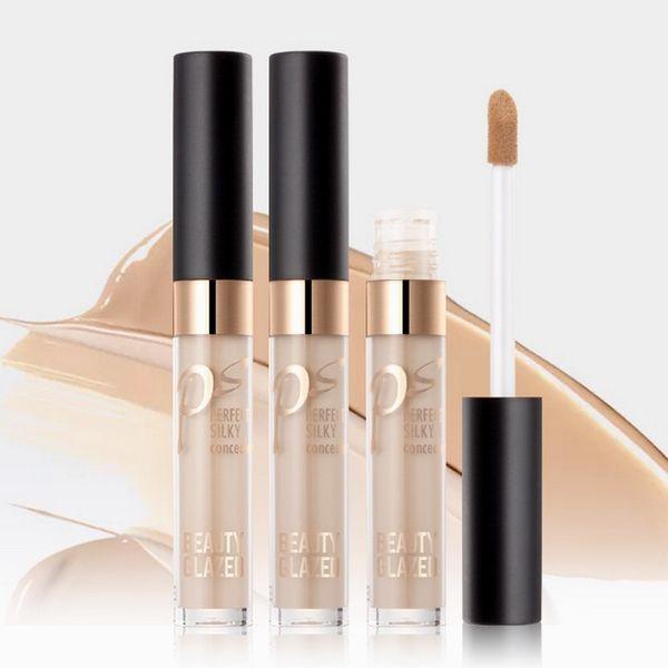 Novo Corretivo Maquiagem 24-Hour Corretivo Desgaste Suave Estúdio de Cosmética de Longa-Duração Natural Anti-Cernes Concealer 7 ML