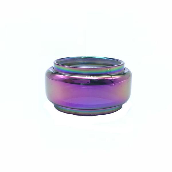 For Stick V9 Max tank extended rainbow bubble glass tube free shipping ecig vape glass bulb glass tube vape accessory