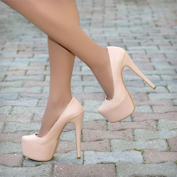 Mst-029 Leather 2020 New Summer Sexy Women High Heels 15 cm Fashion Stripper Shoes Party Shoes 35-40