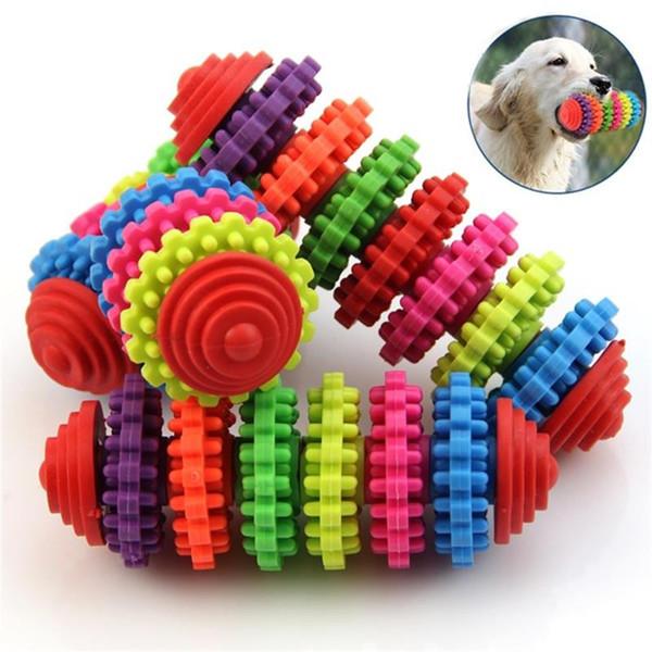 Coloré Chien Jouets Chiot Chien Dentition Dentaire Santé Bite Chew Toys 5 Styles Vitesse En Forme Pet Mâcher Chien Jouant Jouets Pet Brosse À Dents